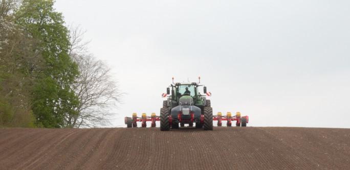 100% plantetilgængeligt fosfor i startgødning til majs